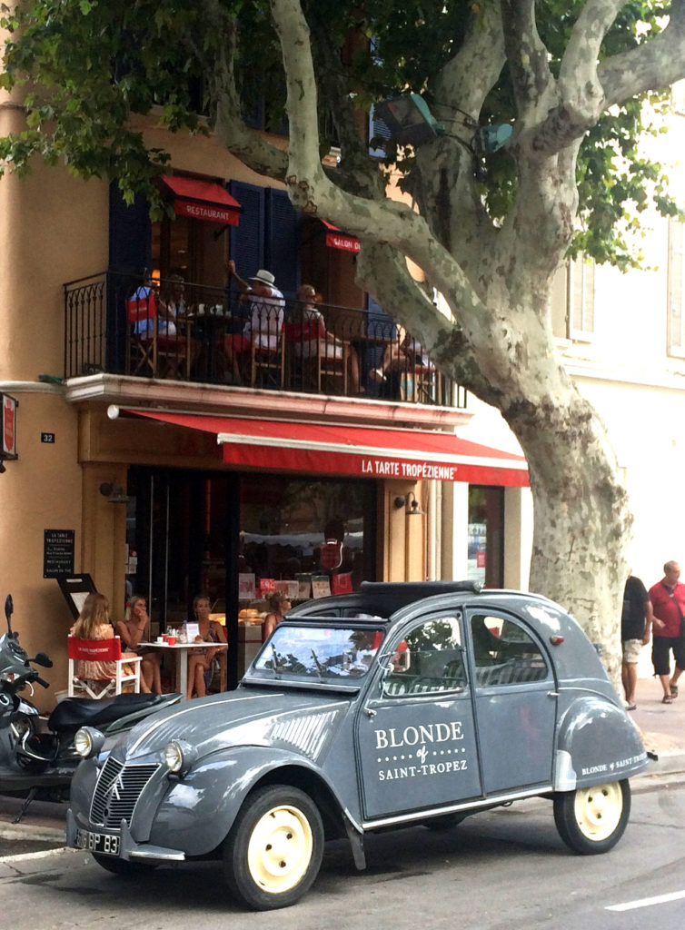 2CV Blonde of Saint-Tropez